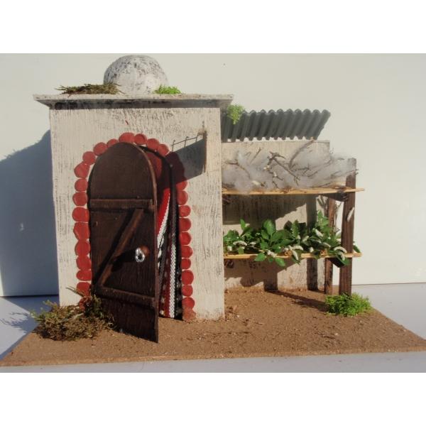 Casa belen moruna gde fabrica de seda 32x21x27 cm - Belenes puente tocinos ...