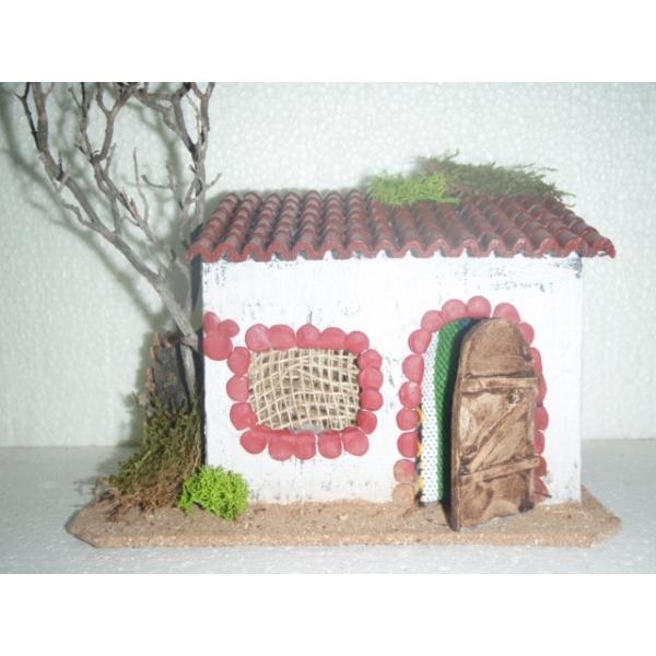 Casa belen navidad c teja 200x110x130 belenes puente tocinos - Belenes puente tocinos ...