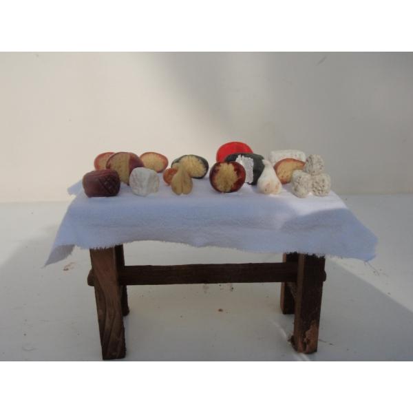 Mesa madera grande quesos 120x75x90 belenes puente tocinos - Belenes puente tocinos ...